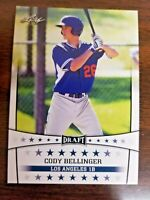 25 count lot Leaf Draft 2017 CODY BELLINGER Rookies gem mint LA Dodgers gem