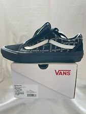 Supreme®/Vans® Old Skool Pro - Black UK6-US7