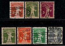 SWITZERLAND 1911 Over 100 Years Old Stamps - William Tell 's Son