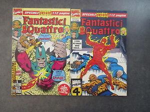 FANTASTICI QUATTRO Speciale Estate 1/2 - Serie Completa - Ed. Marvel It. - 1994