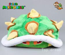New Super Mario Bowser Koopa Plush Hat Soft Cap Anime Cosplay Hats