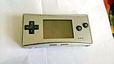 Nintendo Game Boy Micro Silver Handheld System
