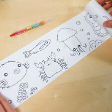 Children's Educational Arts & Crafts Repositionable Educational Colouring Rolls