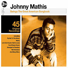 Johnny Mathis - The Greatest American Songbook - 2CD SET - BRAND NEW SEALED hits