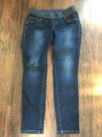Old Navy Womens Maternity Jeggings Low Rise Knit Panel Pull On Jeans Size 12