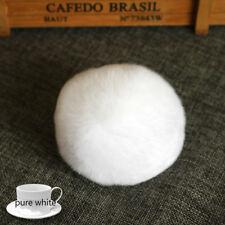 5PC 6cm DIY Faux Fox Fur Pom Pom Ball for Beanie Hats Hand Bag Accessories Decor
