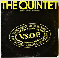 Herbie Hancock Freddie Hubbard The Quintet VSOP LP EX++ Vinyl DJ Promotional