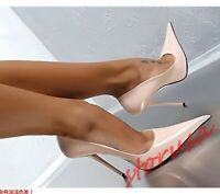 Sexy 13cm High Heels Pointy Toe Party Shoes Womens Stiletto Nightclub Shoes Pump
