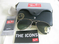 Brand New RayBan Aviator Classic RB3025 L0205 58mm - Limited price Ray-Ban