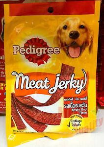 Brand Pedigree Meat Jerky Smoky Beef Flavour Dog Food 8pcs Pet Food 80g