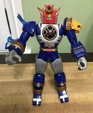 "Bandai Power Rangers Storm Lightning Megazord  2002 Bandai 10"" action figure"
