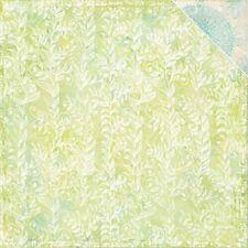 Blue Fern: 12x12 Paisley & Vine: Vineland 2pc Scrapbook Paper