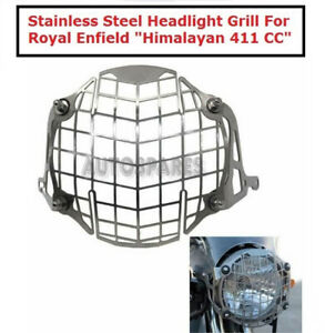 """Stainless Steel Headlight Grill For Royal Enfield """"Himalayan 411CC"""""""