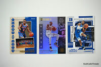 2019-20 RJ Barrett Rookie Lot x3 Hoops Illusions Contenders NY Knicks