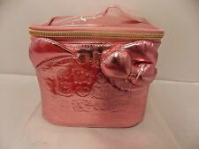 Sanrio LIMITED EDITION ANNIVERSARY Hello Kitty METALLIC Make-up ETC. Bag NWT
