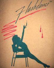 "Vintage 1983 Flashdance Iron-On Transfer ""Eighties!"" Super Rare!"