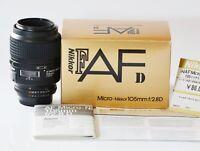 [Top MINT in Box] Nikon Ai AF Micro Nikkor 105mm f2.8D Macro from Japan N279