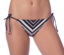 NEW Polo Ralph Lauren Desert Crochet Tie Side Hipster Bikini Bottom S Small