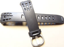 Timex T5H911 T5H921 Zone Trainer Fitness Heart Rate Monitor HRM Black Watch Band