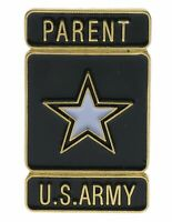 Army Parents Star 1 inch Hat Badge Pin H14450 JD178