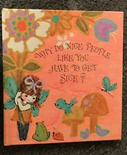 Why Do Nice People Like You Have to Get Sick? Fairy Pixie Gift Book 1970s