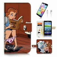 ( For Samsung Galaxy S7 ) Case Cover P3412 Snow White Toilet