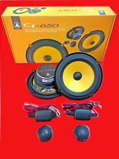 """JL AUDIO C1-650 6.5"""" Component System 50 Watts RMS Pair New"""
