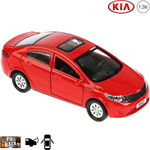 KIA RIO RED 1:34-1:39 WELLY METAL CAR NIB