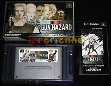 FRONT MISSION GUN HAZARD Super Nintendo SNES Versione Giapponese NTSC ○ COMPLETO