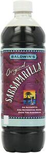 Baldwins Sarsaparilla 1 Litre Pack of 12