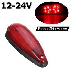 6inch IP67 LED Trailer Red Side Marker Light Fender Indicator Lamp Truck  W