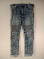 Broken Threads Mens Stretch Pants Jeans 34 X 30 Slim Fit