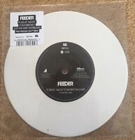 """Feeder - Forget About Tomorrow/Just The Way I'm Feeling 7"""" White Vinyl- RSD 2017"""