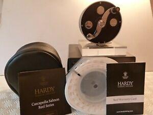 Hardy Cascapedia Salmon Trout Interchangeable 8/9 Fly Reel- Free line £70.00 inc