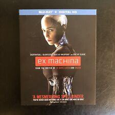 Ex Machina Blu-Ray + Digital W/ Slipcover