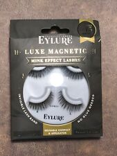 Eylure Luxe Magnetic Mink Effect Lashes Opulent Up To 15 Wears Reusable Compact