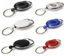Premier Ski Pass Reel Retractable Id Card Holder Key Reel Door Pass Key Holder