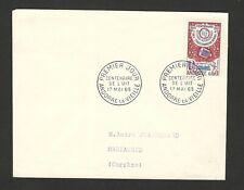 ANDORRA - TRAVELED FDC - 100 Y. TELECOMMUNICATION UNION ITU - 1965.