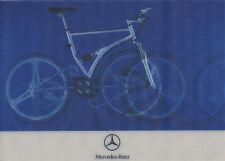 Mercedes Bike Fahrrad Postkarte 2000 Wackelbild Lentikular post card bicycle