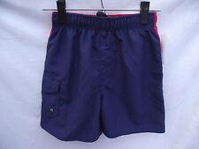 BNWT Boys Sz 7 Smart Blue and Red Urban Supply Elastic Waist Swim Board Shorts