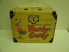 Vintage Mattel Carnival Hurdy Gurdy  BOX ONLY