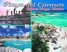 Mexico - PLAYA DEL CARMEN Travel Souvenir Fridge Magnet