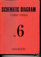 Kenwood Service Schematics Vol.6 82-83 FREE usa SHIP