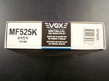 NIB VGX MF525K New Front Brake Pads Kit Storm Impulse Stylus Miata MX5 MX-5 S XS