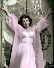 "ELIZABETH TAYLOR ELEPHANT WALK 1954 ACTRESS 8X10"" HAND COLOR TINTED PHOTOGRAPH"