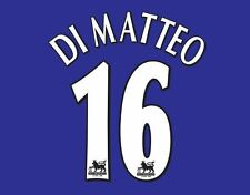 Di Matteo #16 Chelsea 1997-2002 Home Premier League Football Nameset for shirt