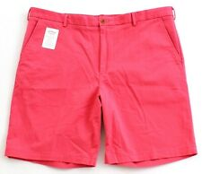 Izod Saltwater Rose Relaxed Classics Stretch Flat Front Shorts Men's NWT