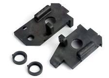New Traxxas 4-Tec Side Plates Belt Cams Black Part # 4824