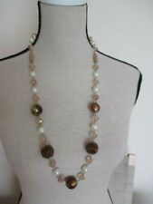 Necklace. Long, Multi-Bead. East.