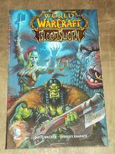 WORLD OF WARCRAFT BLOODSWORN DC COMICS DOUG WAGNER RAAPACK < 9781401230302
